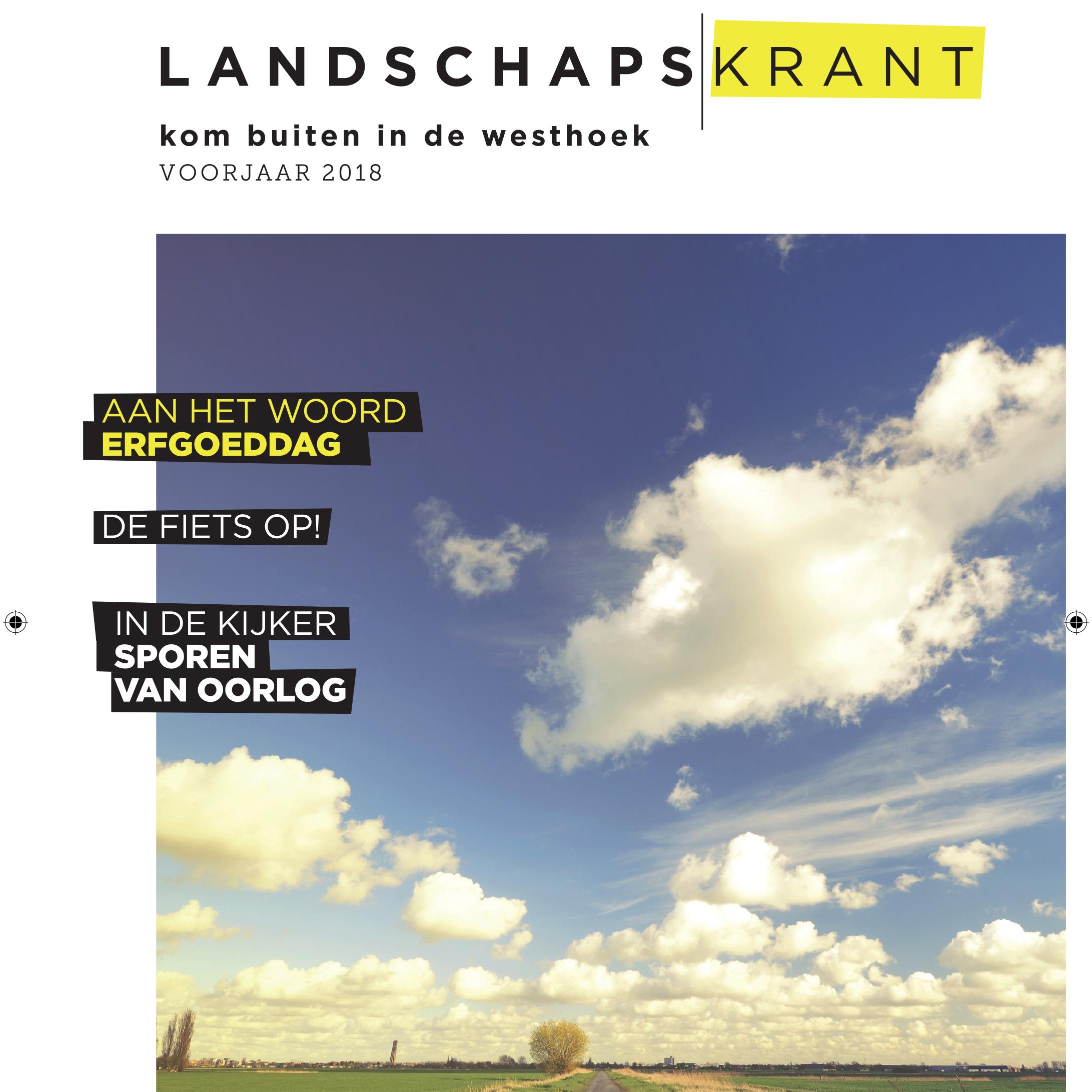 Landschapskrant voorjaar 2018
