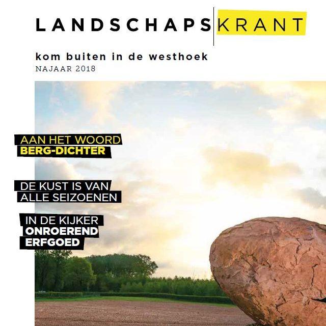 Landscap krant voorflap